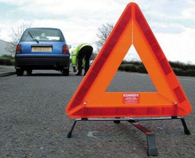 Cảnh báo trên đường khi xe hỏng
