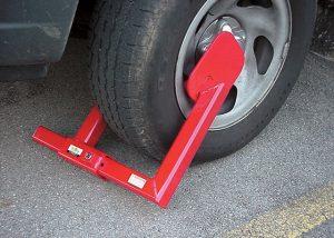 Thiết bị chống trộm khóa bánh ô tô